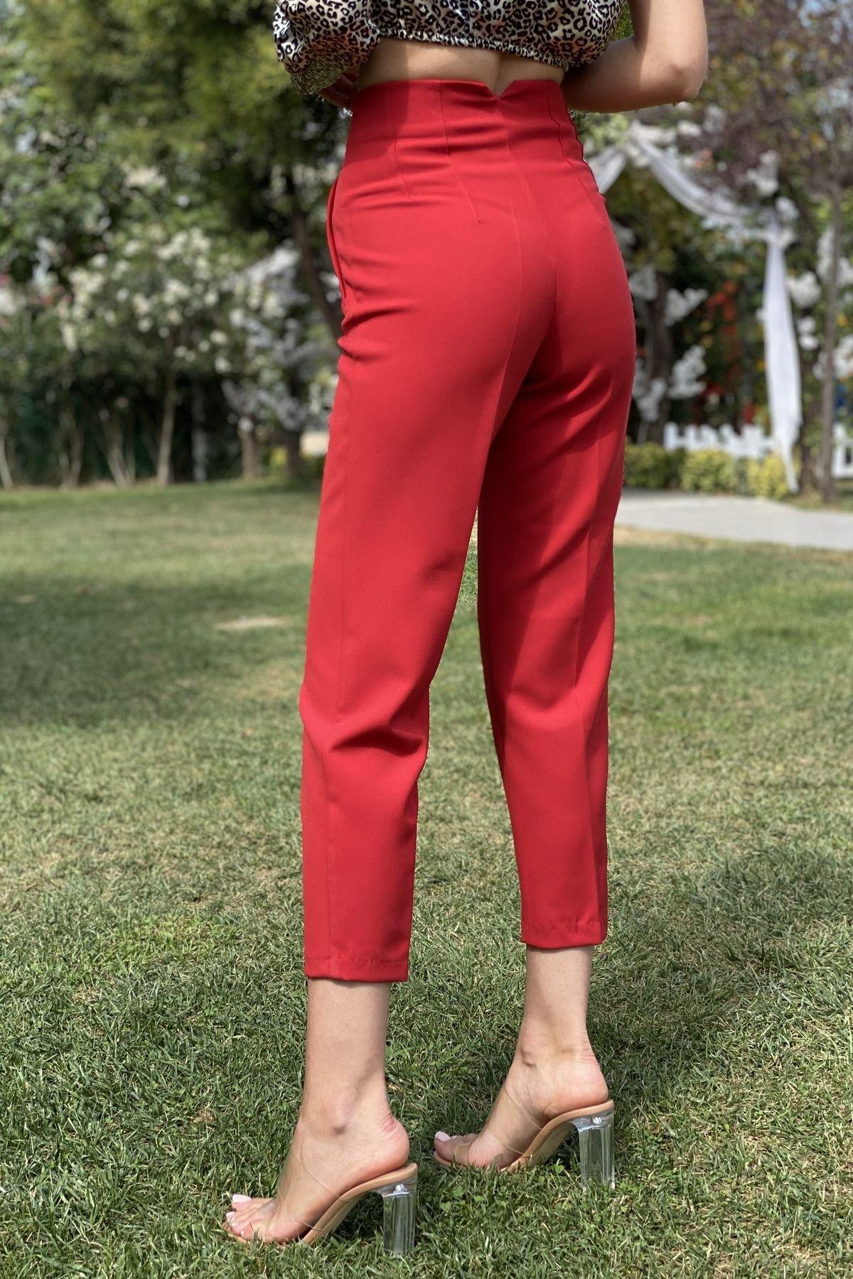 Krl 5113 Önü Flatolu Pantalon