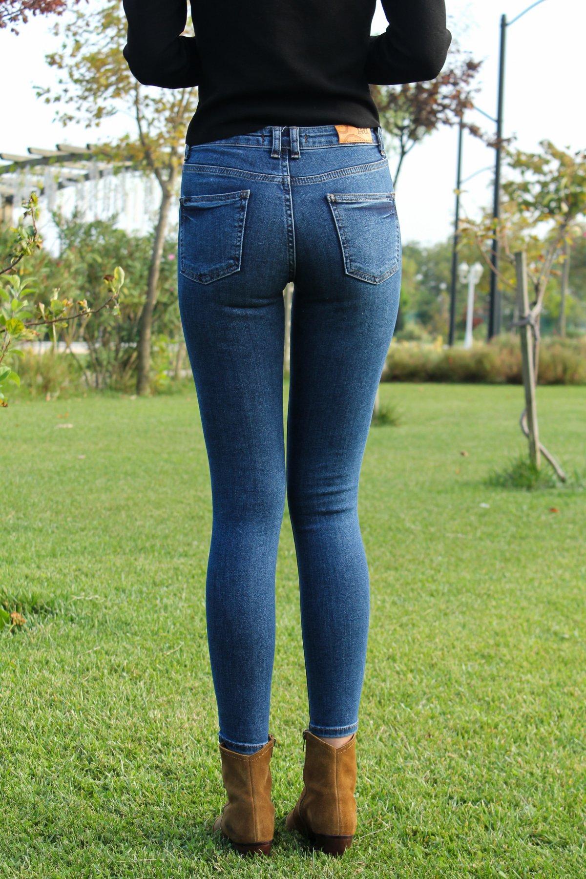 Detaylı Sknny Jean