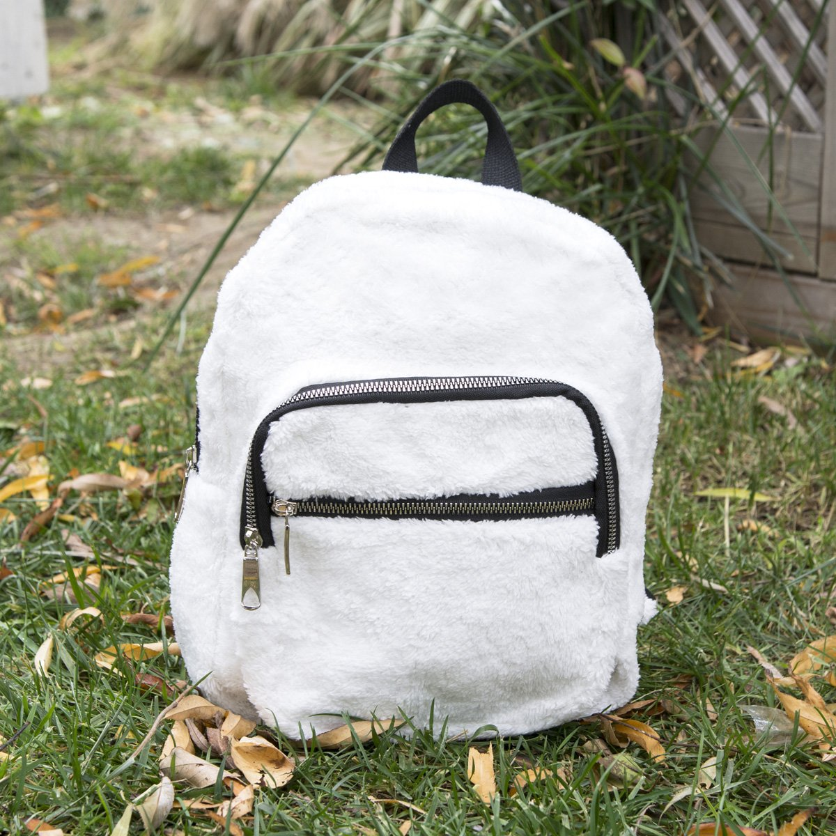 Peluş Mini Sırt Çanta